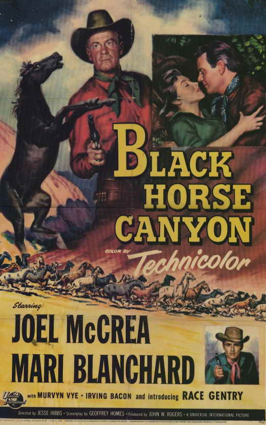 Black Horse Canyon (1954) - Joel McCrea  DVD