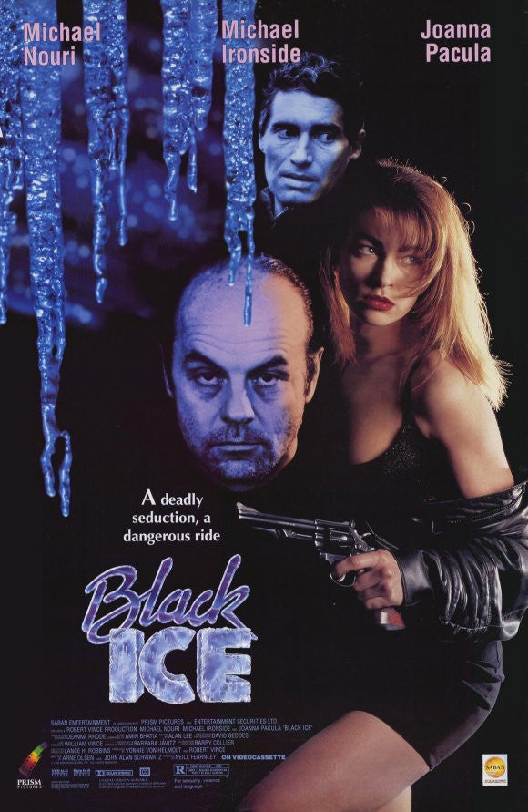 Black Ice (1992) - Michael Ironside  DVD