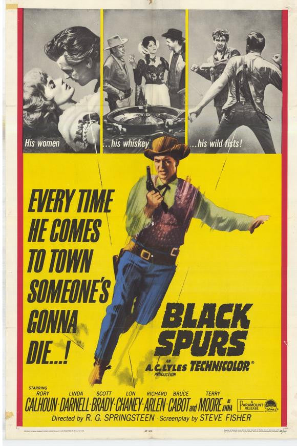 Black Spurs (1965) - Rory Calhoun  DVD