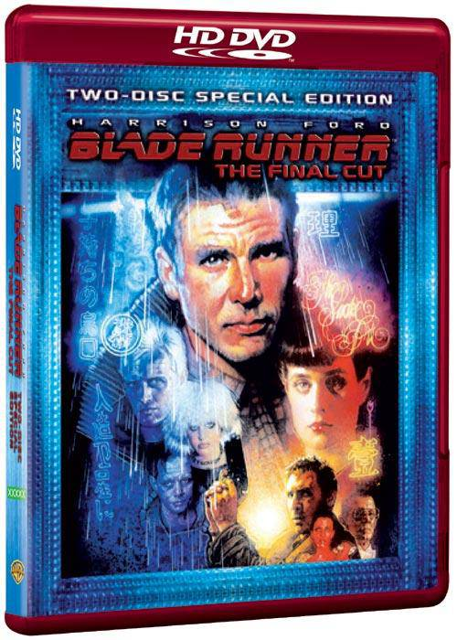 Blade Runner : The Final Cut (2-Disc Special Edition) - Harrison Ford  HD DVD