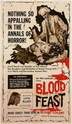 Blood Feast (1963) - Mal Arnold  DVD