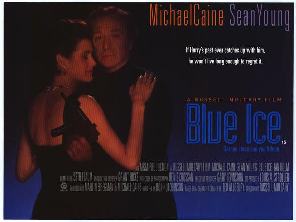Blue Ice (1992) - Michael Caine  DVD