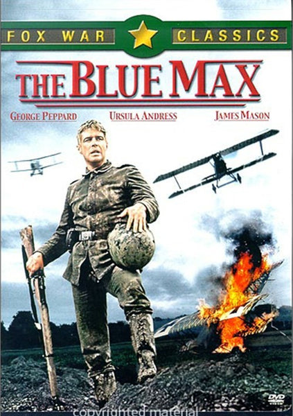 The Blue Max (1966) - George Peppard  DVD