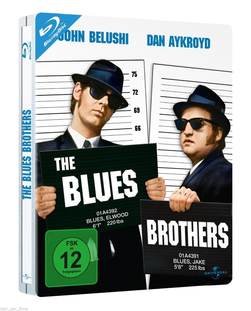 Blues Brothers (1980) - James Belushi Limited STEELBOOK Edition. Blu-ray