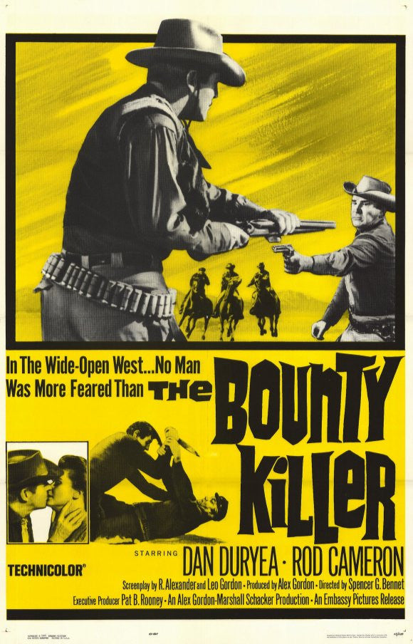 The Bounty Killer (1965) - Dan Duryea  DVD