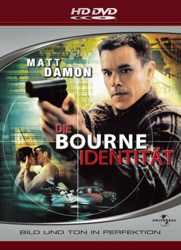 The Bourne Identity (2002) - Matt Damon  HD DVD