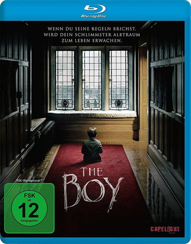 The Boy (2016) - Rupert Evans. Blu-ray