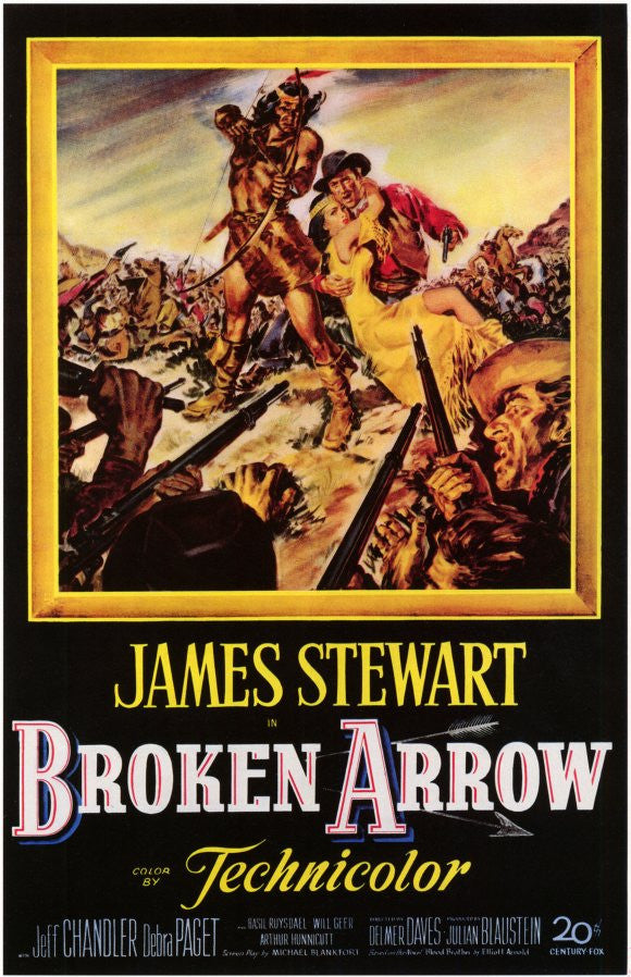 Broken Arrow (1950) - James Stewart  DVD