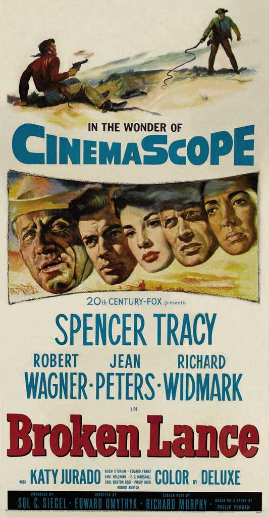 6815c72a9e18 Broken Lance (1954) - Spencer Tracy DVD – Elvis DVD Collector   Movies Store
