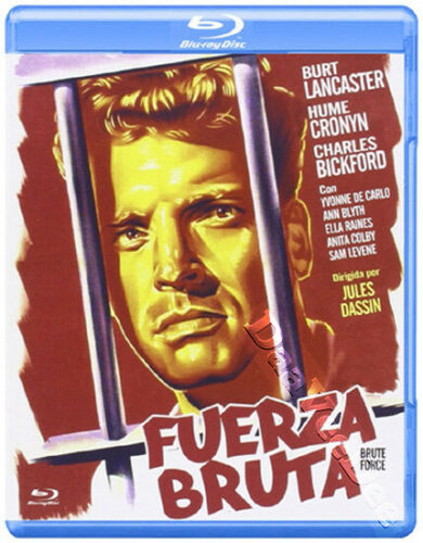 Brute Force (1947) - Burt Lancaster  Blu-ray