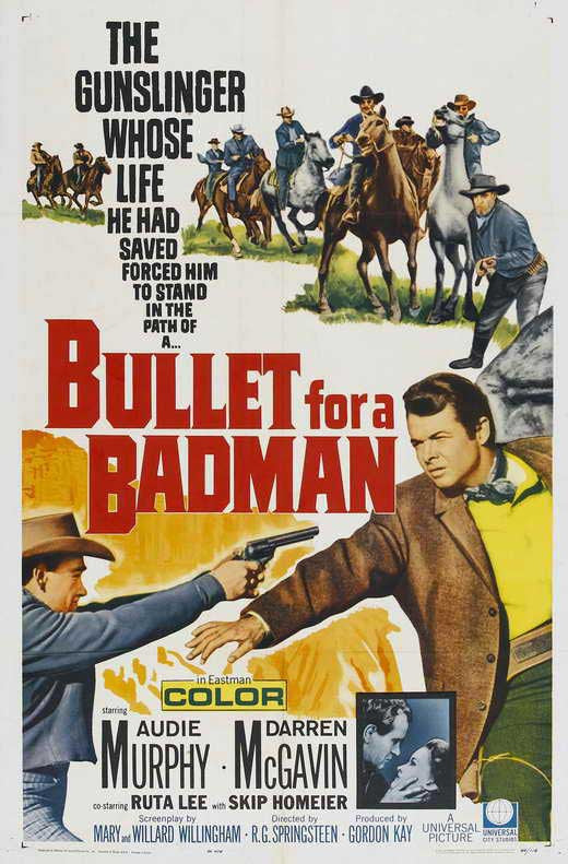 Bullet for A Badman (1964) - Audie Murphy  DVD