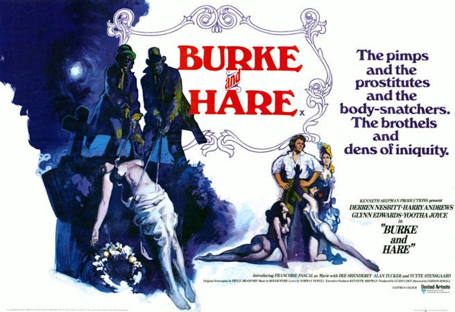 Burke And Hare (1972)  DVD