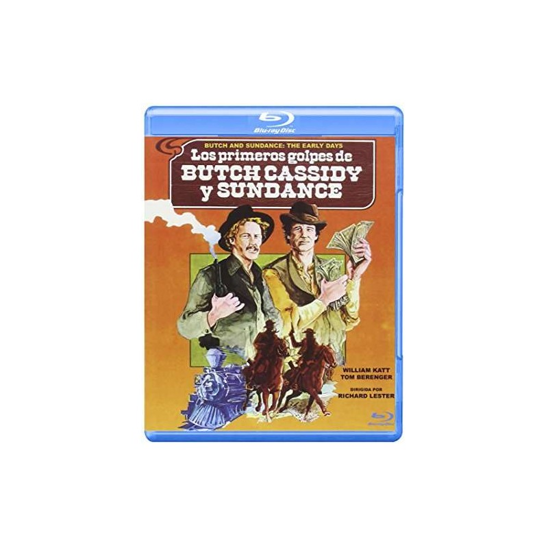 Butch And Sundance : The Early Days (1979) - Tom Berenger Blu-ray