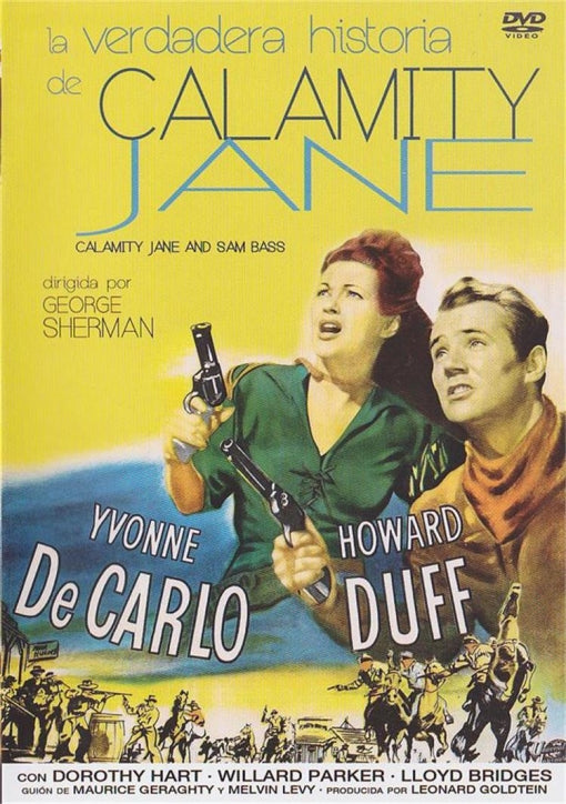 Calamity Jane And Sam Bass (1949) - Yvonne De Carlo  DVD RC2