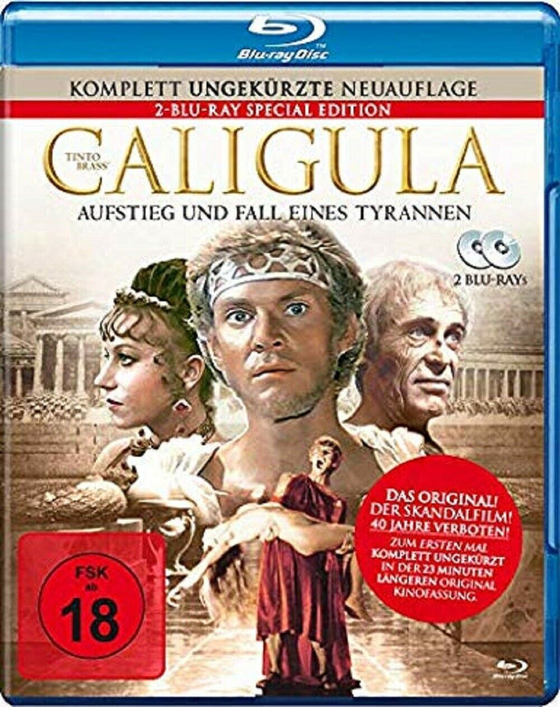 Caligula (1979) - Tinto Brass Limited STEELBOOK Edition Blu-ray