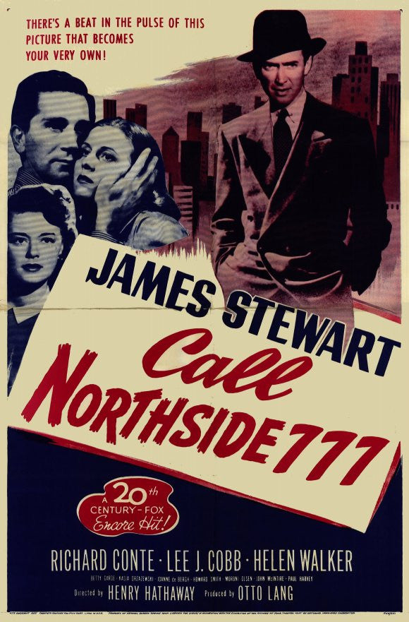 Call Northside 777 (1948) - James Stewart  DVD