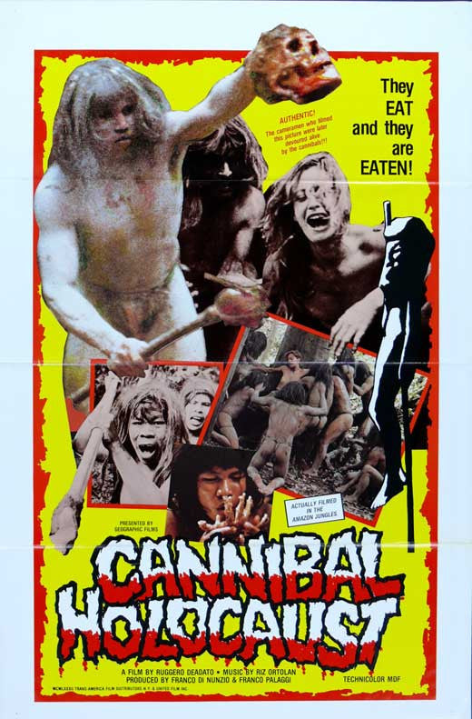 Cannibal Holocaust (1980) - Ruggero Deodato  DVD