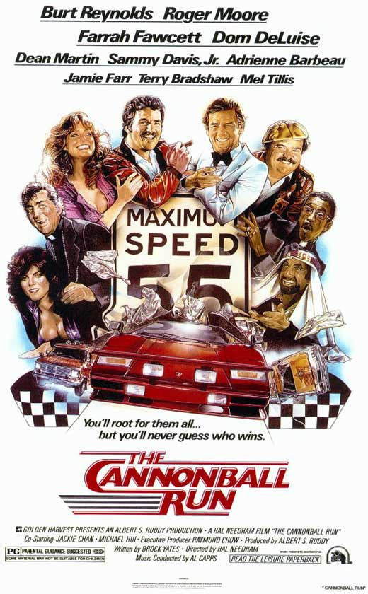 Cannonball Run (1981) - Burt Reynolds  DVD