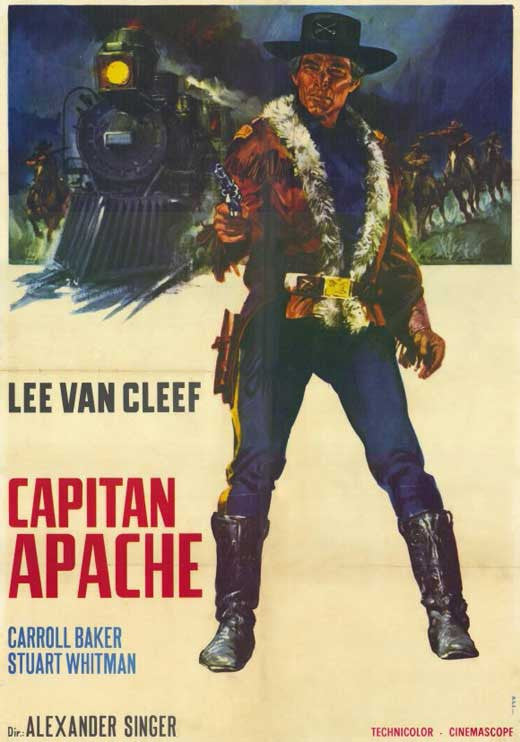 Captain Apache (1971) - Lee Van Cleef  DVD