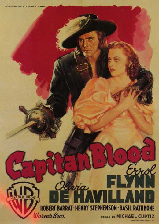 Captain Blood (1935) - Errol Flynn  DVD