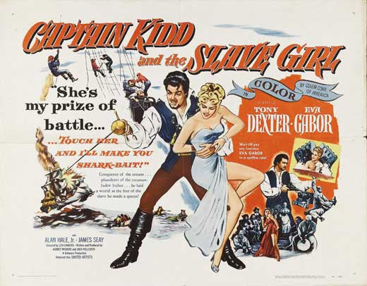 Captain Kidd And The Slave Girl (1954) - Anthony Dexter  DVD