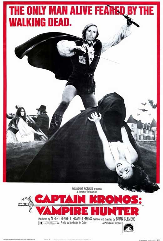 Captain Kronos : Vampire Hunter (1974) - Horst Janson  DVD