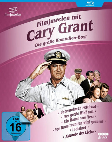 Cary Grant Box ( 6 Blu-ray Box Set )