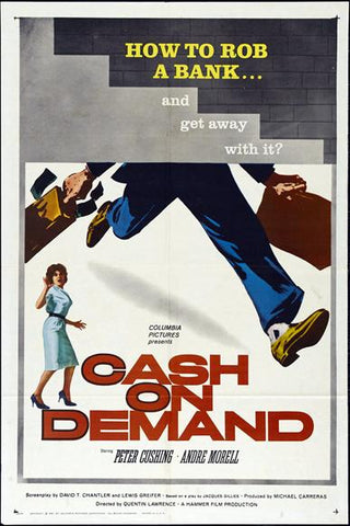 Cash On Demand (1961) - Peter Cushing  DVD