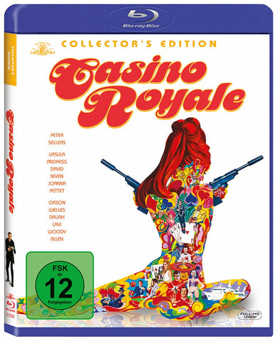 James Bond 007 : Casino Royale (1967) - David Niven  Blu-ray