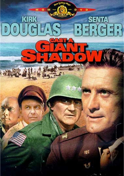 Cast A Giant Shadow (1966) - John Wayne. DVD