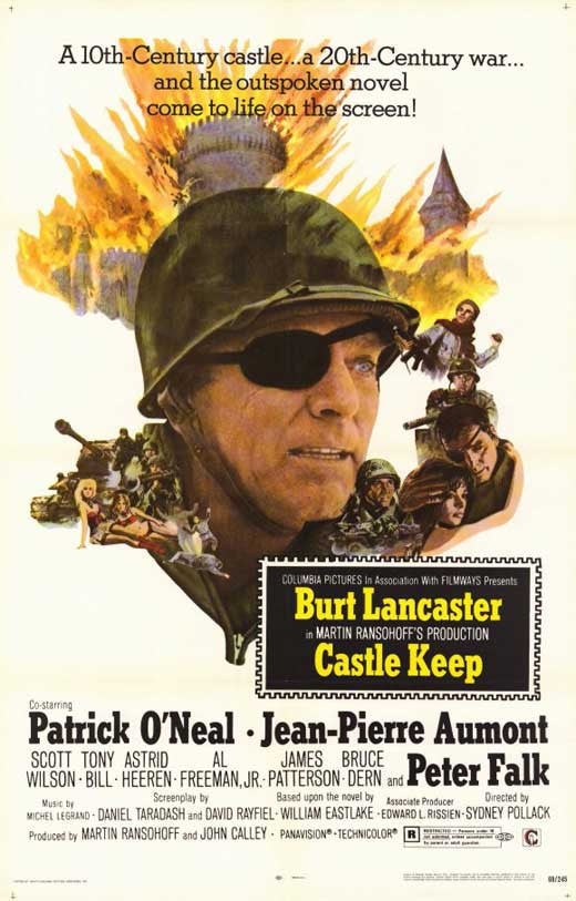 Castle Keep (1969 - Burt Lancaster  DVD