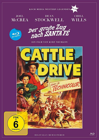 Cattle Drive (1951) - Joel McCrea  Blu-ray