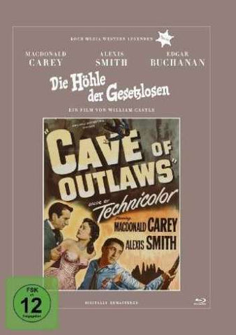 Cave Of Outlaws (1951) - Macdonald Carey  Blu-ray