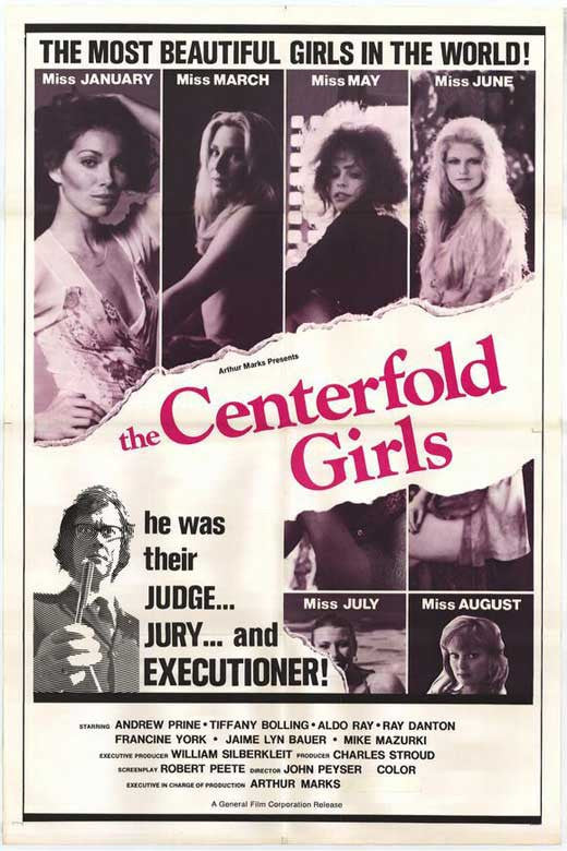 Centerfold Girls (1974) - Aldo Ray  DVD