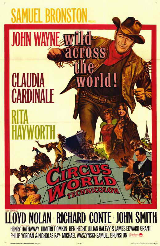 Circus World (1964) - John Wayne  DVD