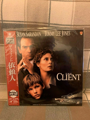 The Client (1994) - Tommy Lee Jones  Japan LD Laserdisc Set with OBI