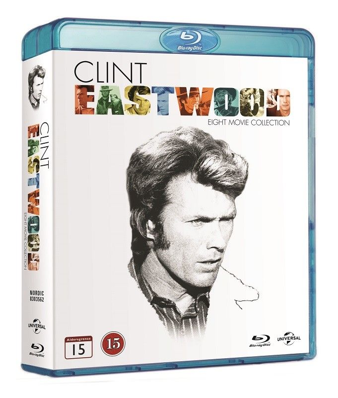 Clint Eastwood 8 Movie Collection (8 Blu-ray Box)