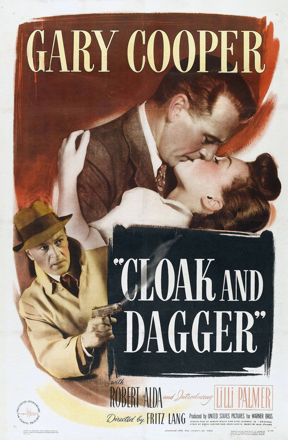 Cloak And Dagger (1946) - Gary Cooper  DVD
