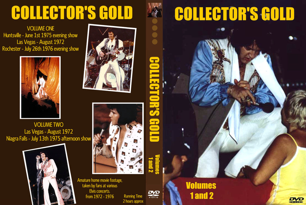 Elvis - Collector´s Gold Vol. 1 & 2  DVD