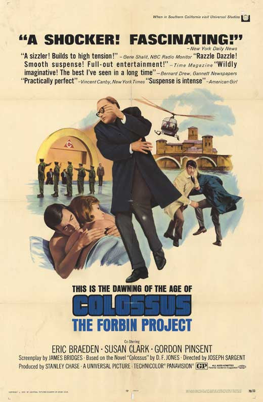 Colossus : The Forbin Project (1970)  - Joseph Sargent  DVD
