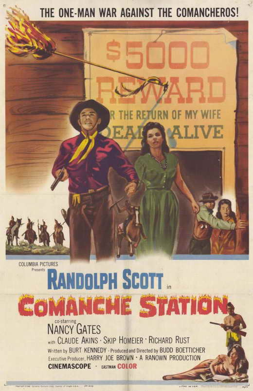 Comanche Station (1960) - Randolph Scott  DVD