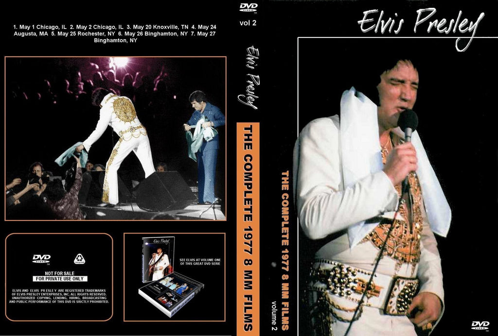 Elvis - Complete 1977 8mm Films Volume 2 DVD