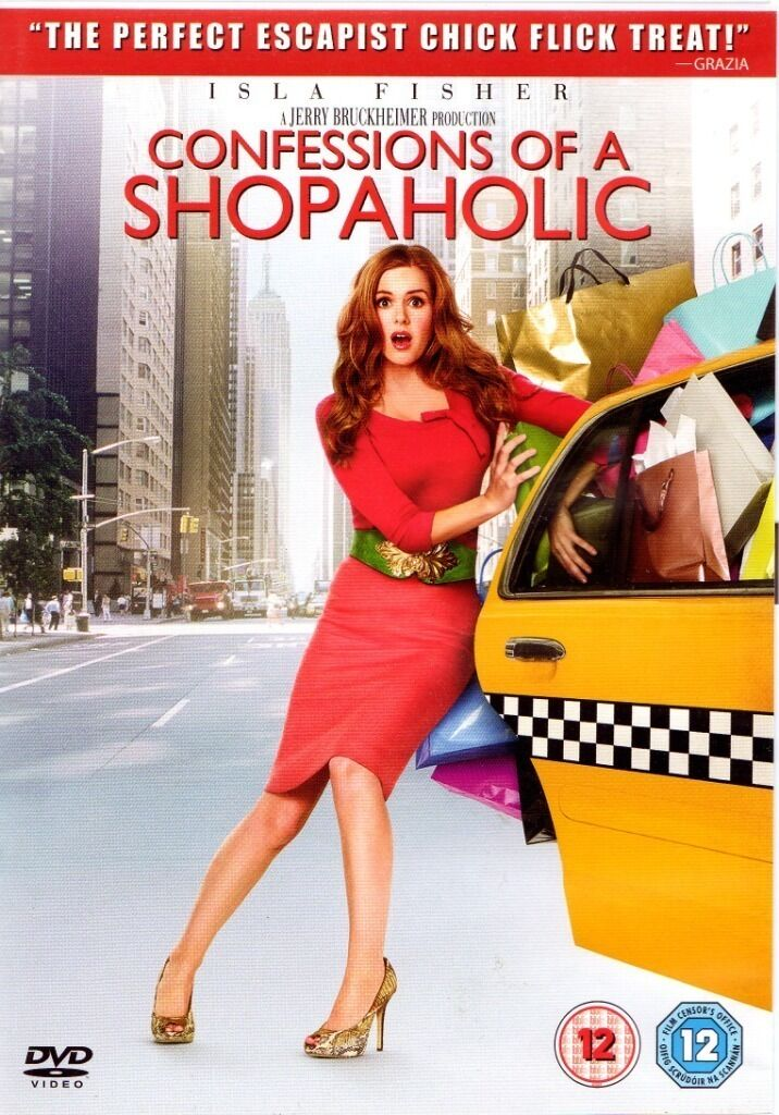 Confessions Of A Shopaholic (2009) - Isla Fisher  DVD