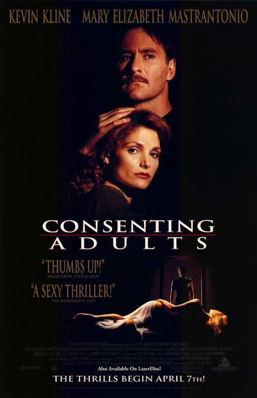 Consenting Adults (1992) - Kevin Kline  DVD