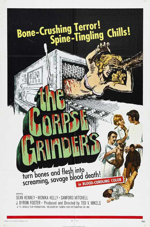 The Corpse Grinders (1971)  DVD
