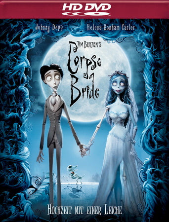 Tim Burton´s Corpse Bride (2005)  HD DVD
