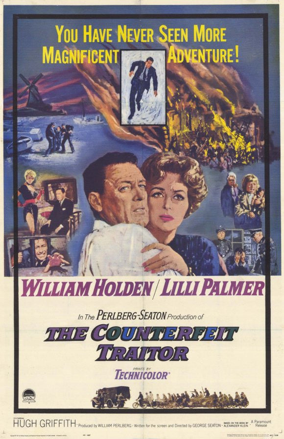 The Counterfeit Traitor (1961) - William Holden  DVD