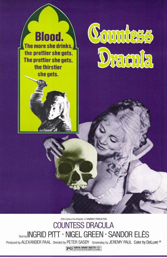 Countess Dracula (1971)  DVD
