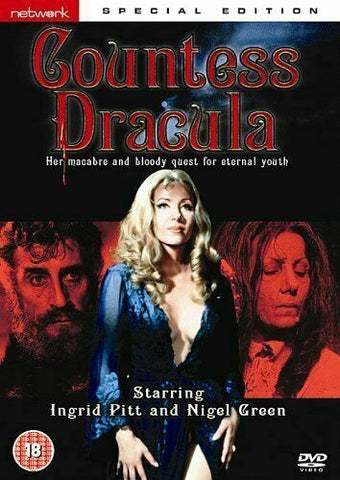 Countess Dracula (1971)  DVD RC2