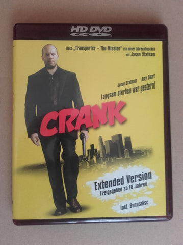 Crank : Extended Version (2006) - Jason Statham  HD DVD